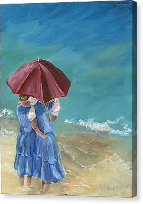 Sisters Canvas Print by Susan Richardson