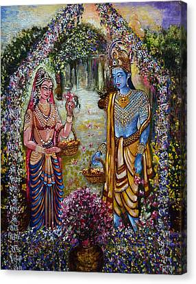 Sita Ram Canvas Print by Harsh Malik