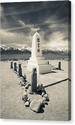 Site Of World War Two-era Internment Canvas Print by Panoramic Images