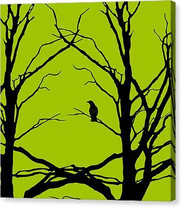 Green Apples Canvas Print - Sitting Around Prt 2 by Lourry Legarde