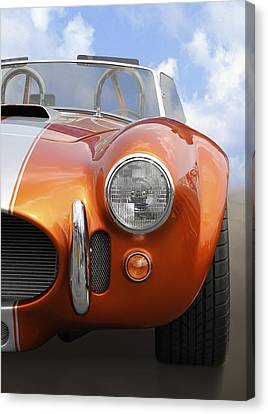 Sitting Pretty - Cobra Canvas Print by Mike McGlothlen