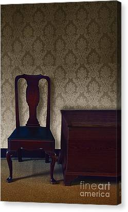 Sitting Room At Dusk Canvas Print by Margie Hurwich
