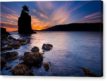 Stacked Canvas Print - Siwash Rock by Alexis Birkill