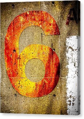 Motivation Canvas Print - Six by Bob Orsillo