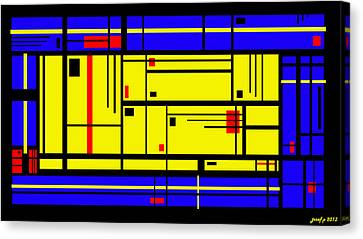Six Degrees Of Separation Canvas Print by Sir Josef - Social Critic - ART