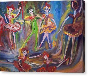 Six Eight Waltz Canvas Print by Judith Desrosiers