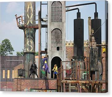 Sixflags Canvas Print - Six Flags America - 12129 by DC Photographer