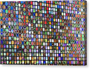 Six Hundred Rectangles Canvas Print