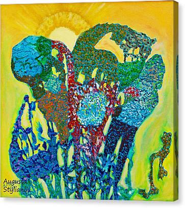 Sixth Creation Canvas Print by Augusta Stylianou