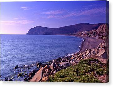 Greece on Canvas Wall Art Oil Paintings Photo Print Coast of the island of Lesbos