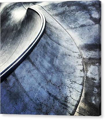 Skate Canvas Print by Jeff Klingler