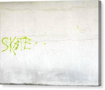 Skate Canvas Print by Valentin Emmanouilidis
