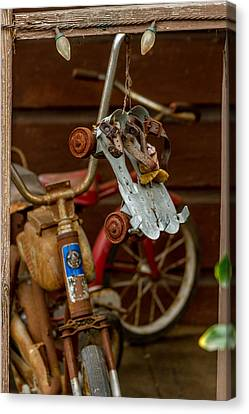 Canvas Print - Skates And Bikes by Bill Gallagher