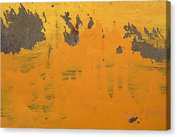 Assia Canvas Print - Skc 4556 Paint Splash by Sunil Kapadia