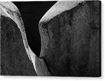 Forming Stones Canvas Print - Skc 8596 The Romance Of Light by Sunil Kapadia