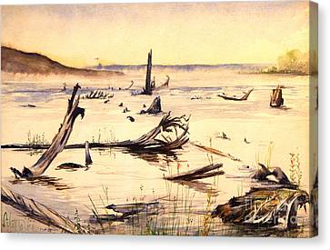 Skegemog Point Canvas Print