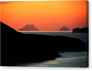 Skellig Islands  Canvas Print