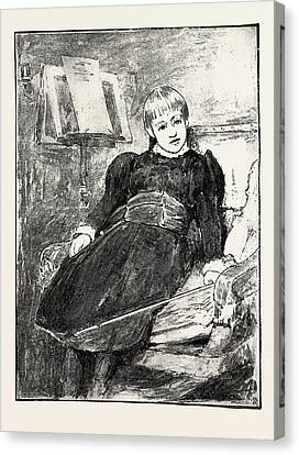 R.i.p Canvas Print - Sketches Of Pictures In The Exhibition Of The Royal by Linton, James Dromgole, (1840-1916), English