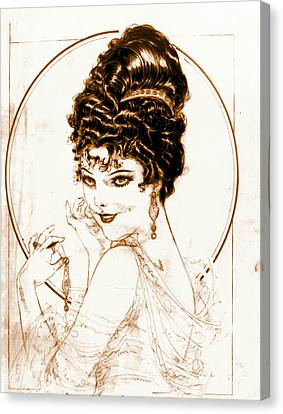 Sketchy Look 1919 Canvas Print by Padre Art