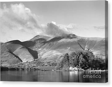 Skiddaw And Friars Crag Mountainscape Canvas Print