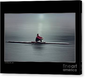 Canvas Print featuring the photograph Skiff by Pedro L Gili