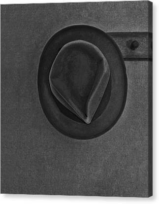 Skinnys Hat Canvas Print by Bob RL Evans