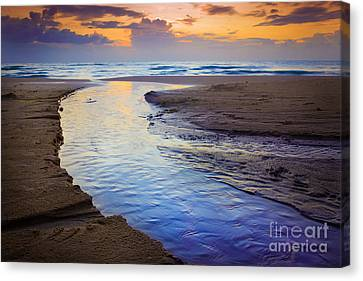 Skiveren Beach Canvas Print by Inge Johnsson