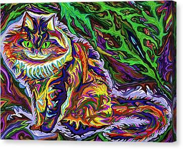 Skogkatt 1999 Canvas Print by Robert SORENSEN
