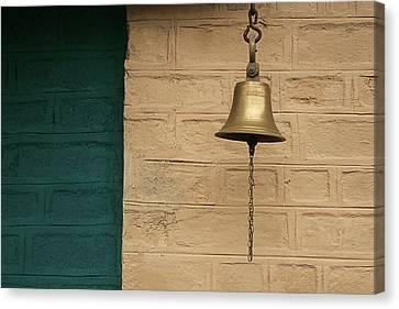 Skc 0005 Doorbell Canvas Print