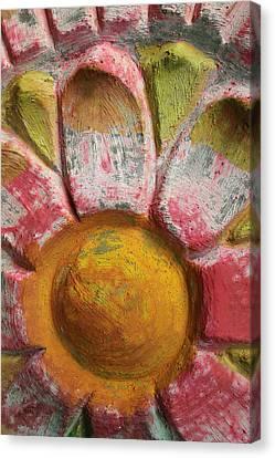 Skc 0008 Scraped Paint Canvas Print
