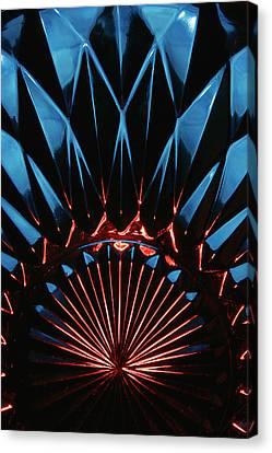 Skc 0269 Cut Glass Canvas Print by Sunil Kapadia