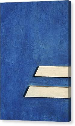Skc 0304 Parallel Paths Canvas Print by Sunil Kapadia