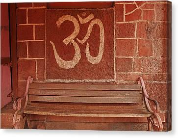 Skc 0316 Welcome The Gods Canvas Print by Sunil Kapadia