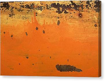 Skc 1505 Peeled Paint Canvas Print by Sunil Kapadia