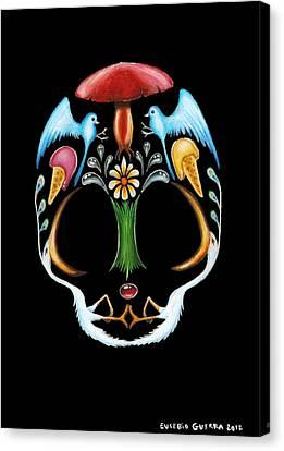 Skull 1 Canvas Print by Eusebio Guerra