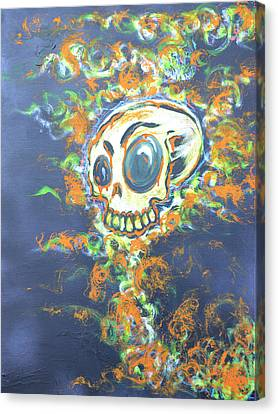 Canvas Print - Skull Candy by Travis Burns