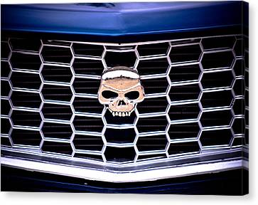 Skull Grill Canvas Print by Phil 'motography' Clark