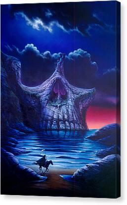 Skull Point Canvas Print by Garry Walton