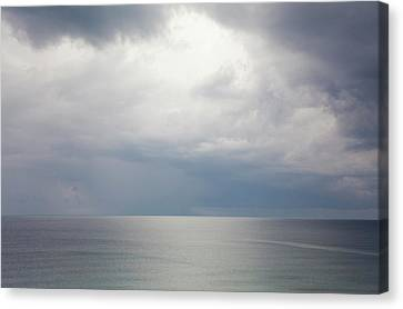 Sky And Cloudscape, Rhodes, Greece Canvas Print