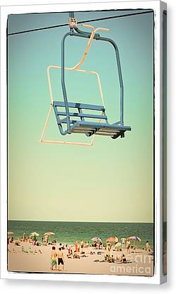 Sky Blue - Sky Ride Canvas Print by Colleen Kammerer