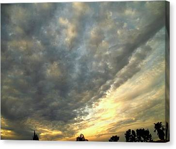 Sky Canvas Canvas Print by Glenn McCarthy Art and Photography