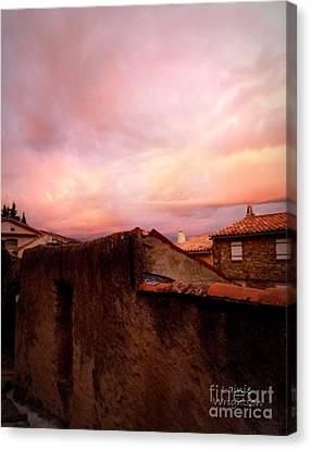 Sky Drama Canvas Print by Lainie Wrightson