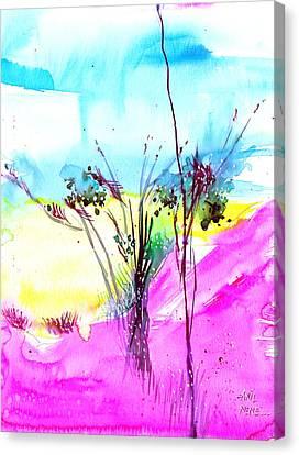 Sky Fall Canvas Print by Anil Nene