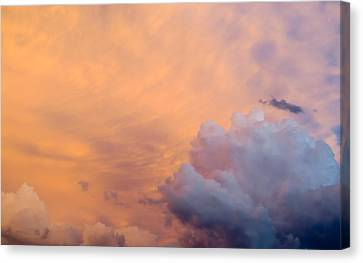 Sky Fire 003 Canvas Print by Tony Grider