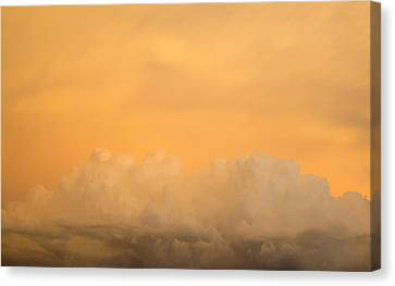 Sky Fire 004 Canvas Print by Tony Grider