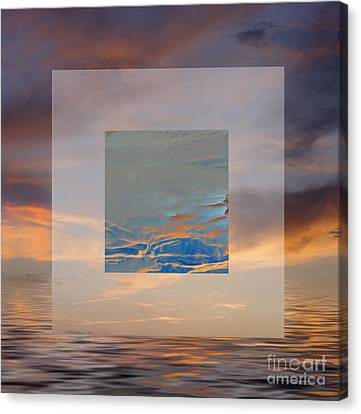 Sky Games Canvas Print by Ursula Freer