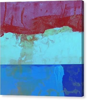 Sky Into The Sea Canvas Print by Carol Leigh
