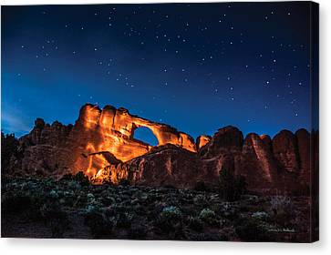 Sky Line Light Canvas Print by Daniel Hebard