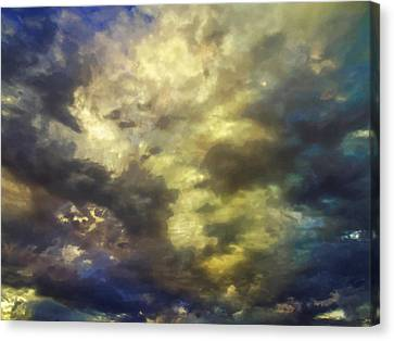 Sky Moods - Abstract Canvas Print