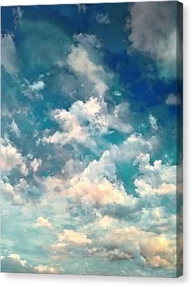 Sky Moods - Refreshing Canvas Print by Glenn McCarthy